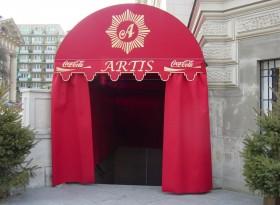markiza tunel wejściowy 44