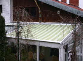 markiza weranda ogród zimowy 27